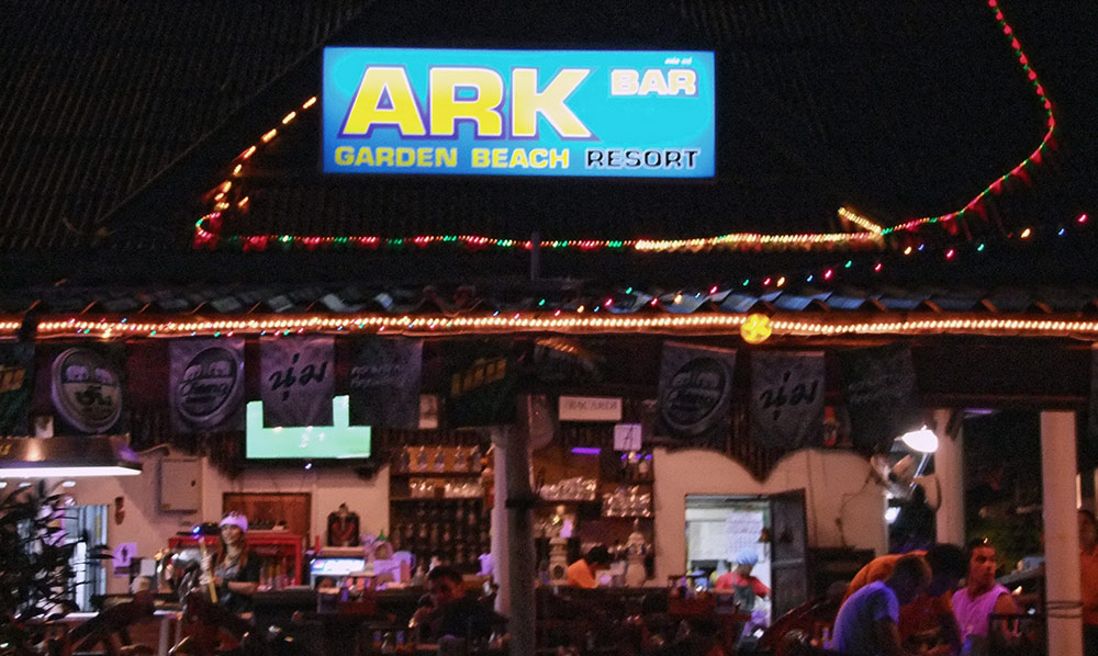 Ark Bar und das Ark Beach Resort