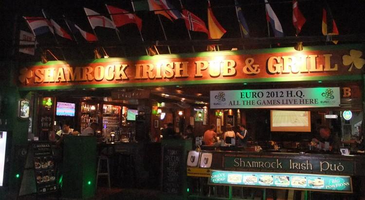 shamrock pub lamai