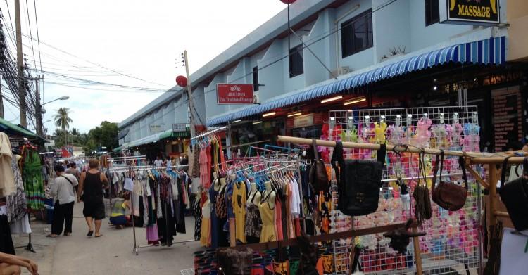 Lamai Strassen Markt