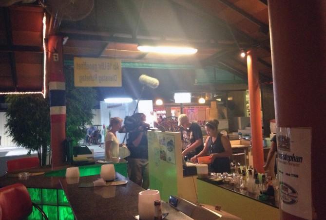 Probleme in der Bamboo Bar