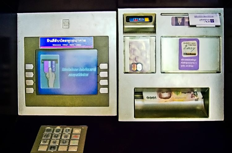 Kreditkarte ATM Thailand
