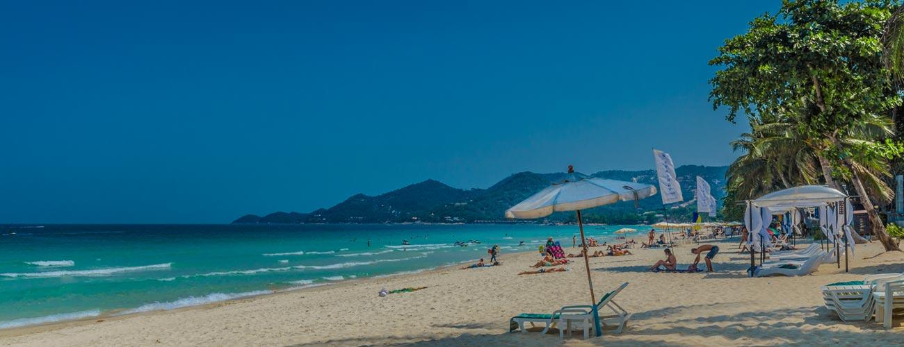 Chaweng Beach auf Koh Samui