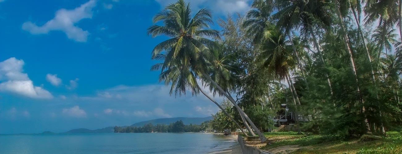Lipa Noi Beach auf Koh Samui