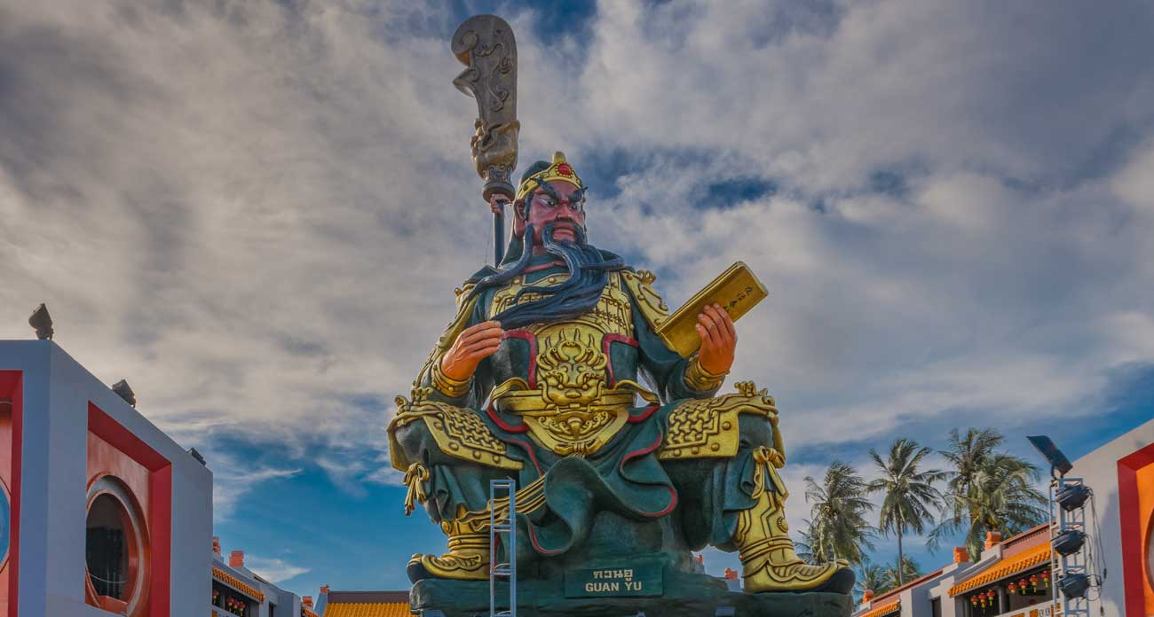 Guan Yu Koh Samui Shrine