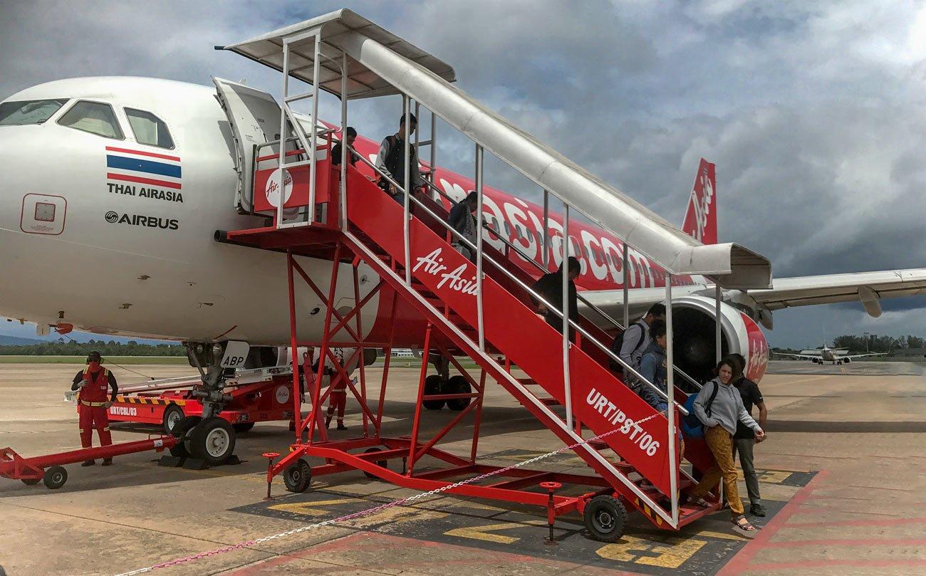Air Asia Surat Thani