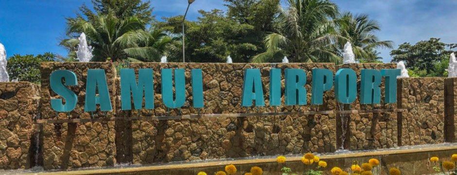Anreise Ko Samui Airport