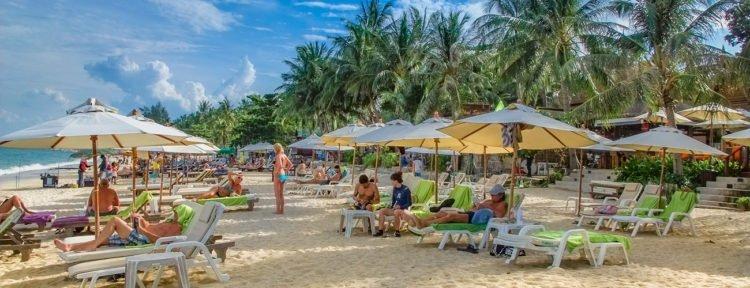 Strand auf Koh Samui